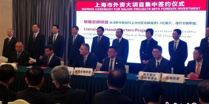 外企繼續加碼在滬投資 跨國藥企在中國首設全球總部