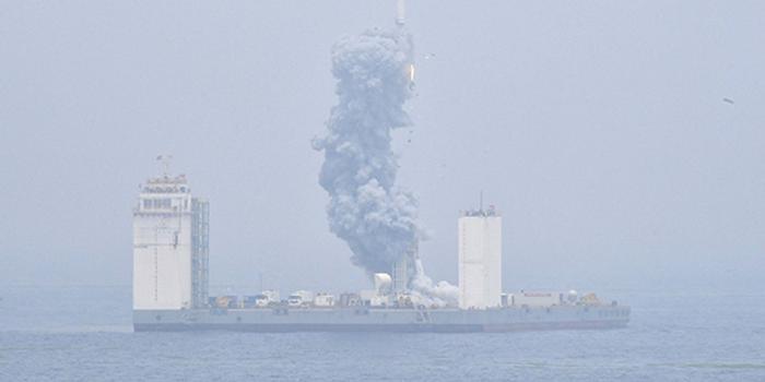 俄專家:長征十一號火箭首次海上發射是世界級的成功