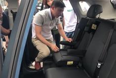 荣威RX3一体式儿童安全座椅