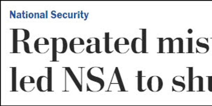 """""""棱镜门""""丑闻后 美国安局又被抓到非法搜集民众通话"""