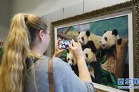 上海绒绣交流展在布鲁塞尔开幕