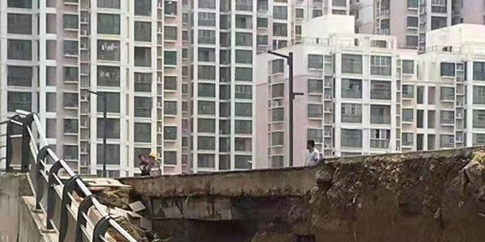 安徽涡阳地标性大桥塌陷:通车仅两年多