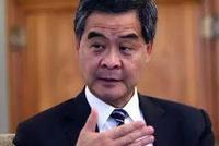 梁振英呼吁全国抵制宝矿力水特