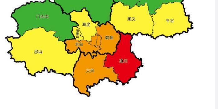 北京多區空氣輕度污染 通州達中度污染