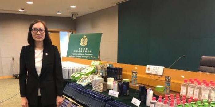 香港海關檢獲6400件冒牌護膚品 比正品便宜4至8成