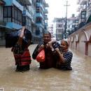 尼泊爾持續降雨已導致78人喪生32人失蹤