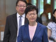 林郑月娥否认辞职 消息系英媒散布