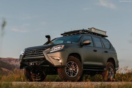 雷克薩斯GXOR概念車 一款純粹越野車