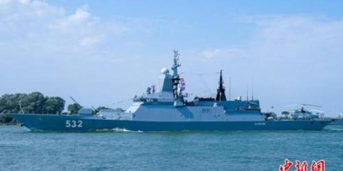 中国海军受邀参加俄军波罗的海舰队海军节活动