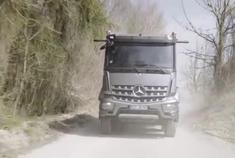 2019年梅赛德斯-奔驰Arocs 8x8越野