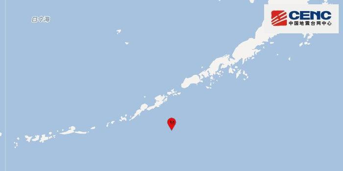 阿留申群岛以南海域发生5.1级地震