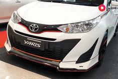 汽车视频:2019款丰田致炫Yaris CVT。