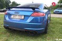 汽车视频:奥迪TTRS 2.5 TFSI。