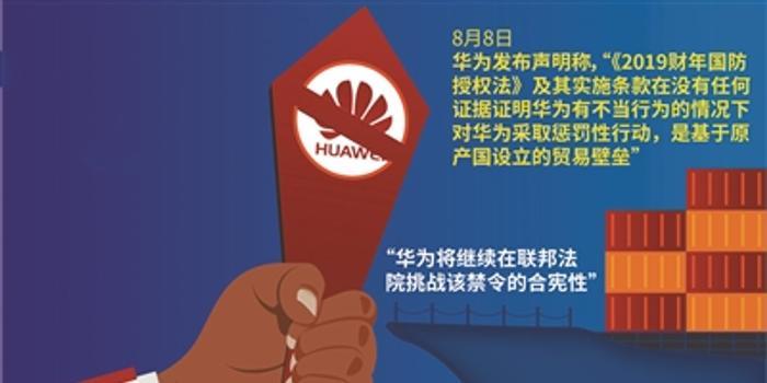 華為:將繼續挑戰美禁令合憲性