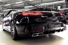 2019奔驰S65 AMG-V12 S级敞篷车审查野蛮声音排气声浪-英语