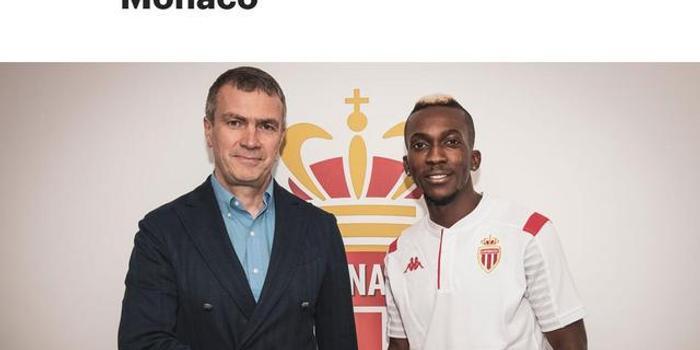 摩纳哥官方宣布签下埃弗顿前锋昂耶库鲁