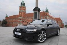 汽车视频:2019奥迪A6 AVANT 50TDI 。