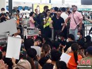 香港机场少数航班取消 机管局:14日航班重新编配