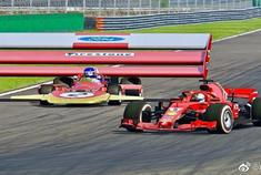 法拉利F1大战路特斯F1,这尾翼看着像太阳能板一样!