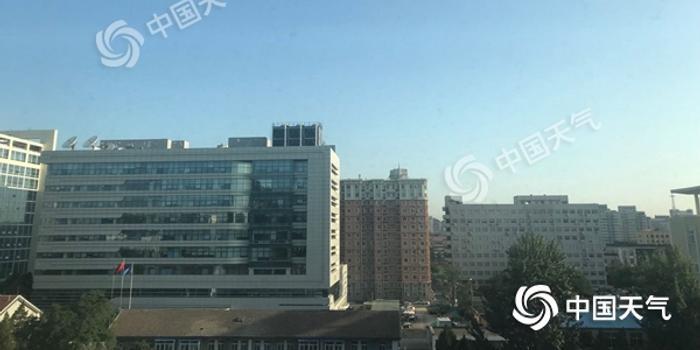 """北京周日晴空""""霸屏""""紫外线强 下周初雷雨再上线"""