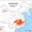 高溫黃色預警 贛湘鄂渝等地部分地區可達37-39℃