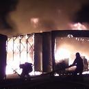 上海一農藥廠發生火災 3名消防員中暑送醫