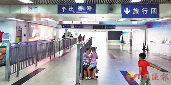 香港暴乱致内地旅游团绝迹 口岸几分钟难见客人