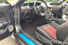 美版肌肉车2016年福特野马,改装蝰蛇GT350R2.3T
