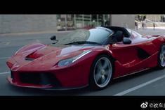 Ferrari LaFerrari Aperta launch,豪车配音乐帅的不要不要的。