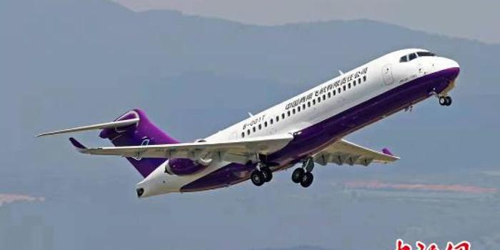 中國ARJ21客機云貴高原演示飛行 將打造西南空中快線
