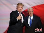 川普确认副总统彭斯为2020年美国大选竞选搭档