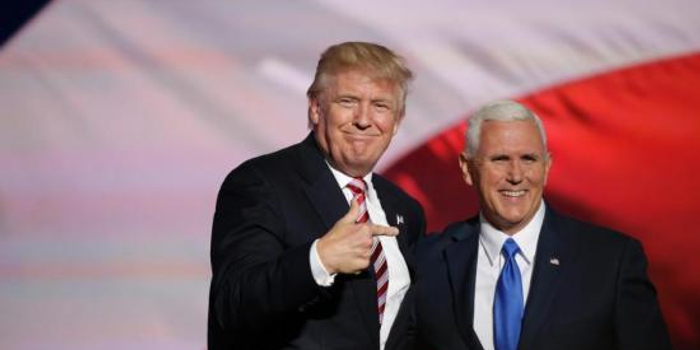 特朗普確認副總統彭斯為2020年美國大選競選搭檔