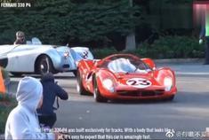 法拉利完美的车型,就可以打败所有车了,这声音真响亮!