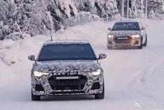 2019奥迪A1,在非常寒冷的条件下测试