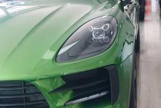 保时捷Macan,我太喜欢这个绿色了