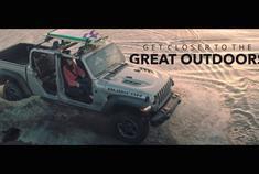 汽车视频:2020 Jeep 角斗士 敞篷模式
