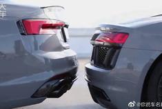 奥迪RS5和奥迪R8外观内饰展示,以及弹射起步。