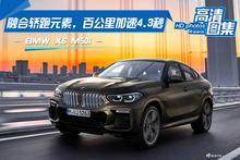 融合轿跑元素,百公里加速4.3秒,BMW X6 M50i