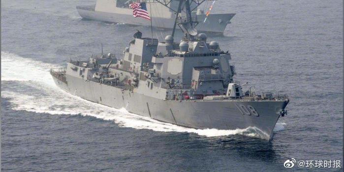 外媒:美国军舰闯入中国南海岛礁12海里范围内