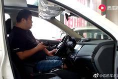 290斤胖子体验日产奇骏SUV,看他对空间说了什么。