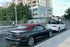 汽车视频:解锁奥迪A5 的敞篷模式