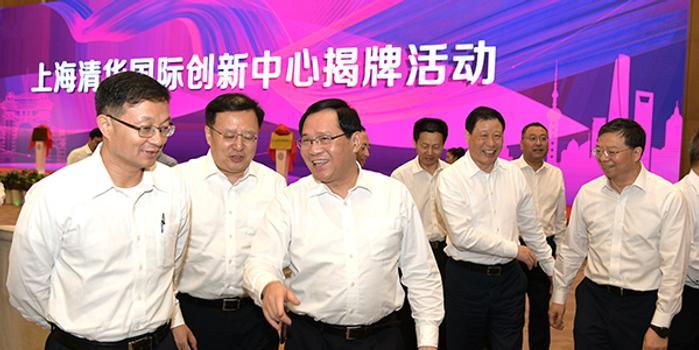上海清华国际创新中心揭牌 市委书记李强出席