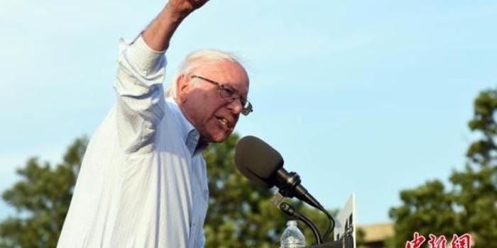美总统参选人桑德斯欲推计划 取消逾期医疗债务