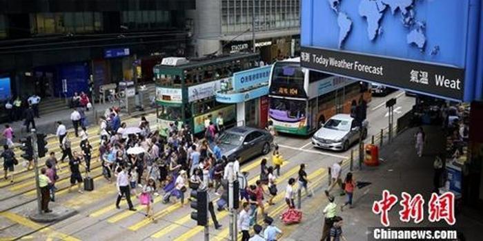 调查:香港逾7成受访中小企业指暴力令生意下跌
