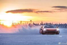 迈凯伦 Mclaren 570S 北极圈雪地漂移大赏