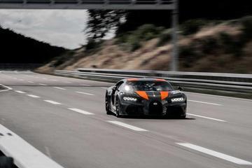 布加迪Chiron 1刷新地表量产车速度纪录