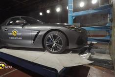 2020年款宝马Z4碰撞测试,你认为它安全吗?