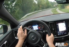 沃尔沃S60驾驶体验,最安全的豪华车,开起来也是如此扎实