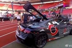 奥迪R8 REVO改装版实拍,你喜欢这款车吗?