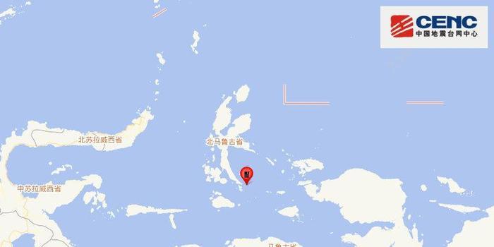 印度尼西亚发生5.8级地震 震源深度10千米